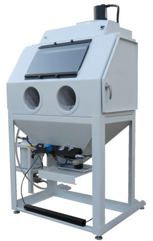 "<span style=""color: #ff0000;"">The New</span> Cobra Stage I Direct Pressure Soda Blasting Cabinet"